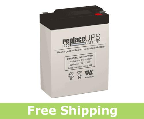 Jasco Battery RB682 - SLA Battery
