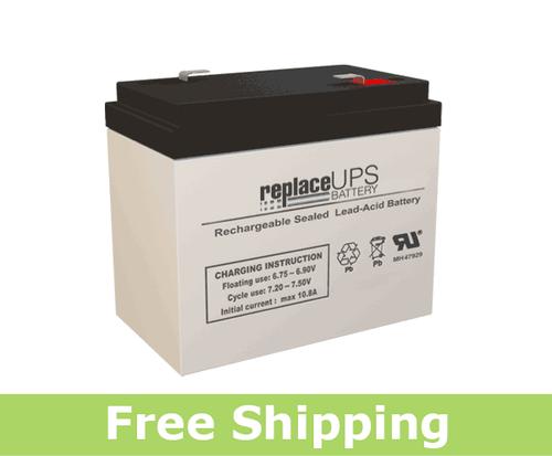 Jasco Battery RB6360-F2 - SLA Battery