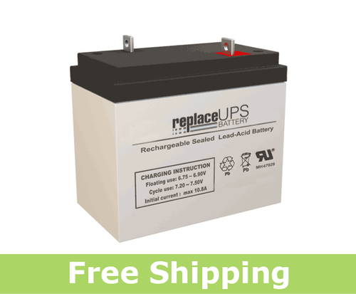 Jasco Battery RB6360-NB - SLA Battery
