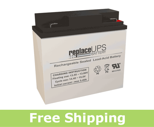 Jasco Battery RB12180-F2 - SLA Battery