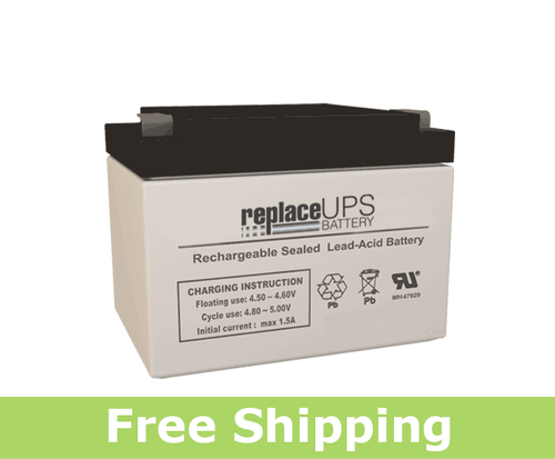 Leoch Battery LP4-5.0 - SLA Battery