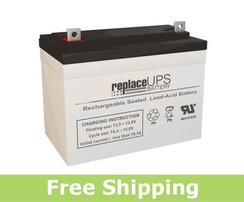 Panasonic LCR12V33 - SLA Battery