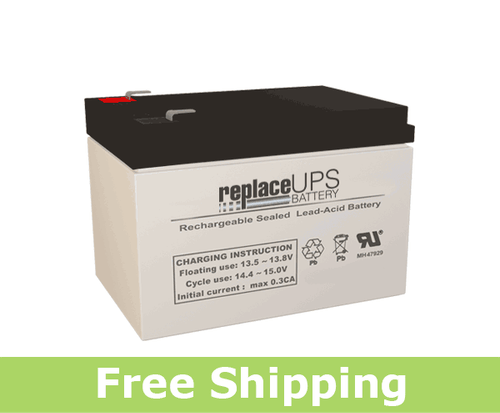 CooPower CP12-12 - SLA Battery