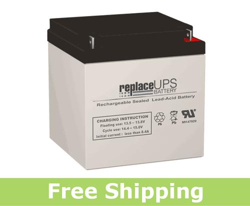 CooPower CPD12-24 - SLA Battery