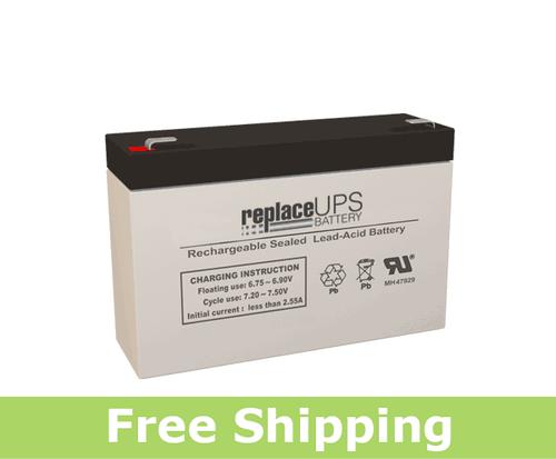 FirstPower FP672-F2 - SLA Battery