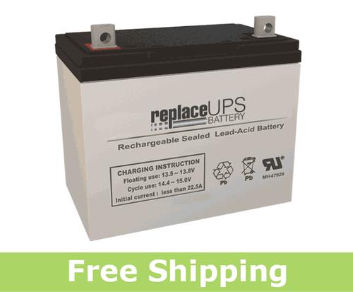 Genesis NP75-12 - SLA Battery
