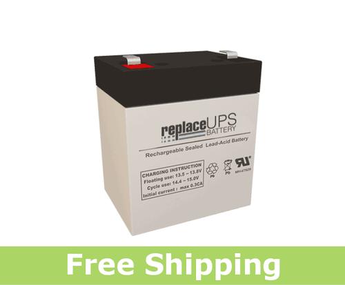 Genesis NP5-12-F2 - SLA Battery