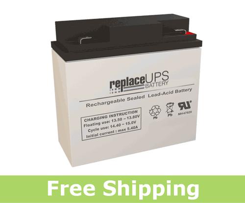 Gruber Power GPS12-18 - SLA Battery