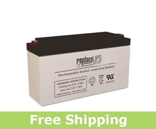 Hawker Gates HG-0809-0012 - SLA Battery