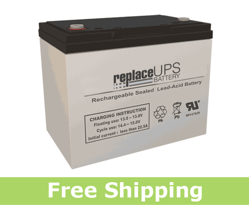 Pegasus Battery LDT12-70 - SLA Battery