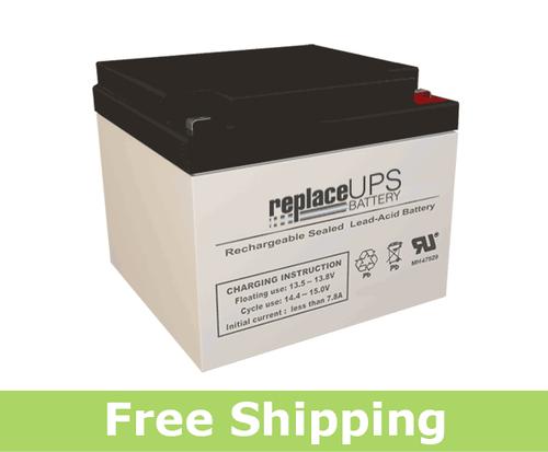 Enersys NP24-12T - SLA Battery