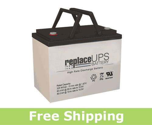 GNB S12V285 - High-Rate UPS Battery