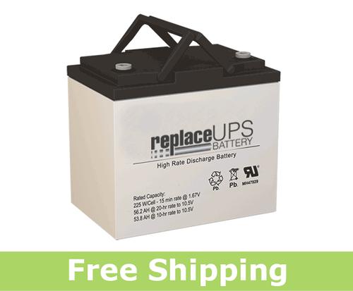 GNB S12V170 - High-Rate UPS Battery