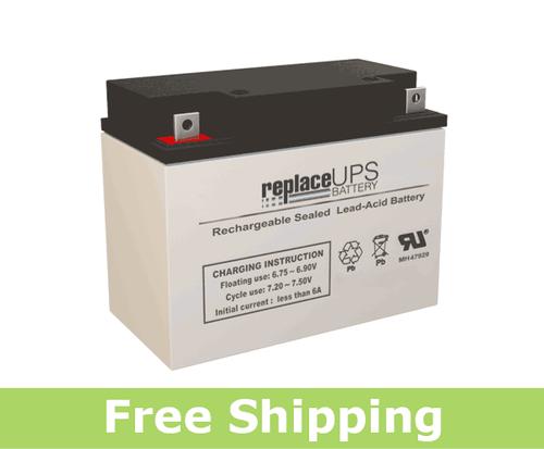 Teledyne Big Beam 2SC6G26P2 - Emergency Lighting Battery