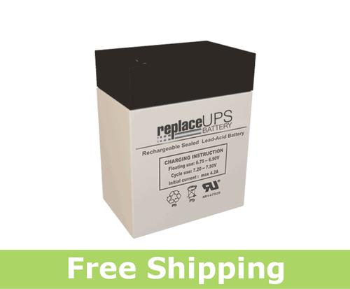 Teledyne 2CL6S10 - Emergency Lighting Battery