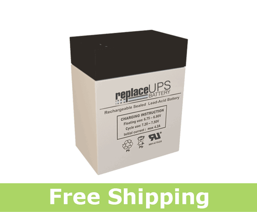 Teledyne SQ6S10 - Emergency Lighting Battery
