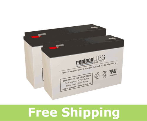 LightAlarms CE15AE - Emergency Lighting Battery Set