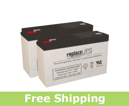 LightAlarms SG12E4 - Emergency Lighting Battery Set