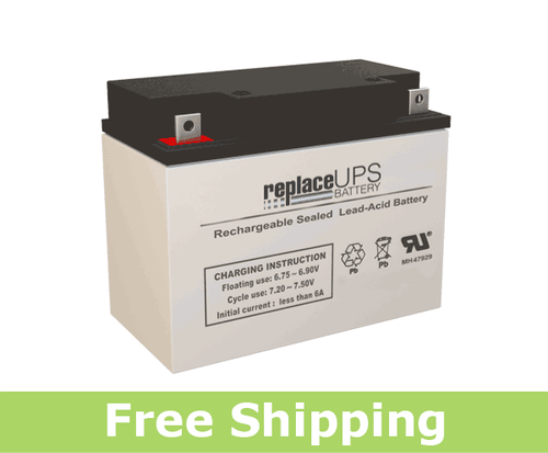 GS Portalac PE6V20B1 - Emergency Lighting Battery