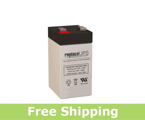 GS Portalac PE 4V 4.5 F2 - Emergency Lighting Battery