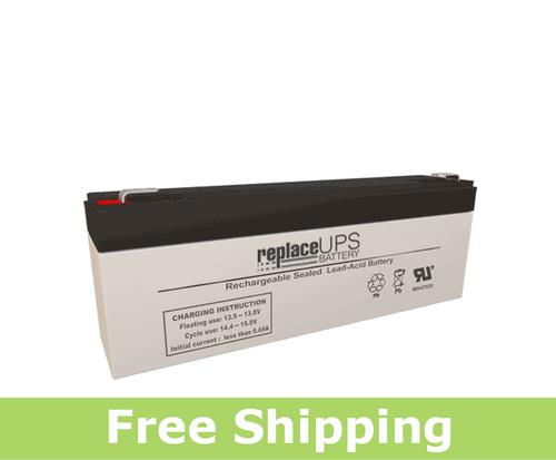 GS Portalac PE12V2.2F1 - Emergency Lighting Battery