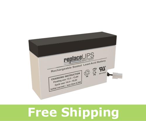 GS Portalac PE12V0.8WL - Emergency Lighting Battery