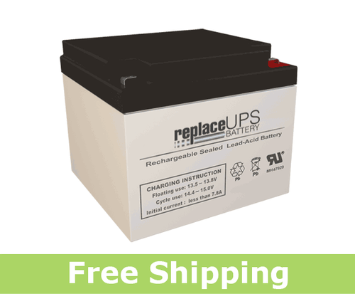 Dual-Lite 12-895-F2 - Emergency Lighting Battery