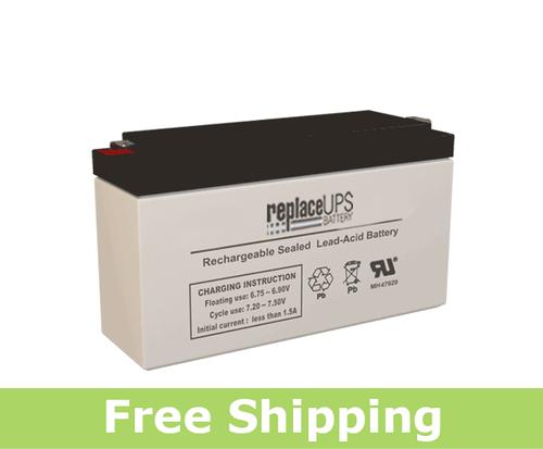 Dual-Lite 12-706 - Emergency Lighting Battery