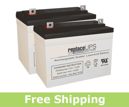 Ortho-Kinetics Lark 4300 - Wheelchair Battery Set