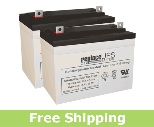 Shoprider 6 Runner (TE888WNC) - Wheelchair Battery Set