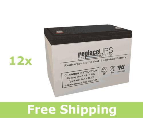OPTI-UPS EL5000-AL (Excal-5000) - UPS Battery Set