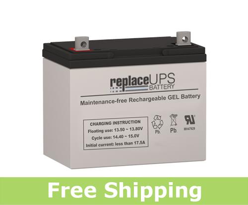 MK Battery 8G24-UT - GEL Battery