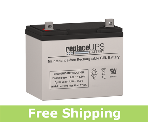 SigmasTek SPG12-75 - GEL Battery