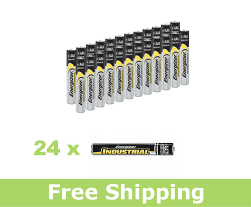 Energizer EN92 Alkaline Batteries - AAA (Set of 24)