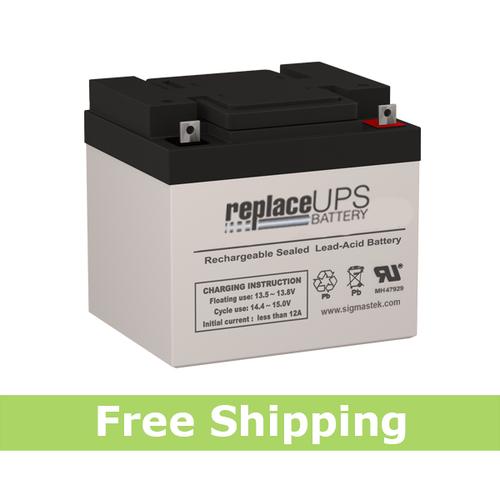 SigmasTek SP12-50 NB Battery