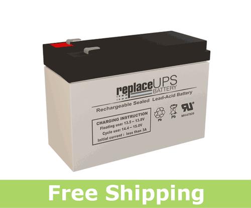Exell Battery EB12100SF2 - SLA Battery
