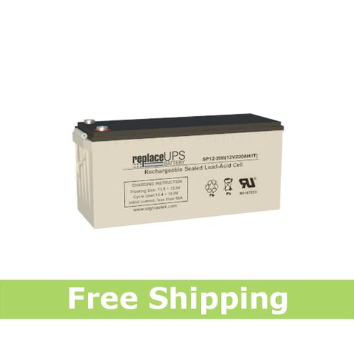 Enduring CB200-12 4D SCADA Solar - Replacement Battery