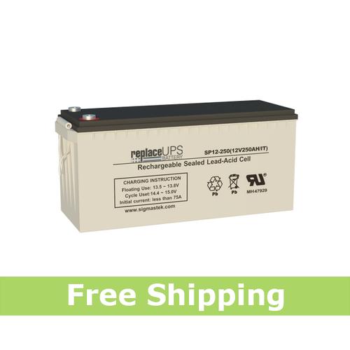 Universal Power UPG 12V 250Ah - SLA Battery