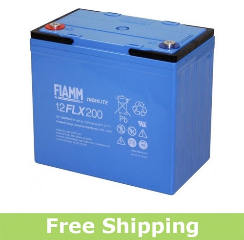 FIAMM 12FLX200 High Rate UPS Battery (OEM)
