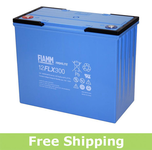 FIAMM 12FLX300 High Rate UPS Battery (OEM)