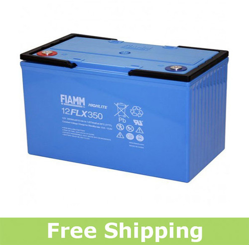 FIAMM 12FLX350 High Rate UPS Battery (OEM)