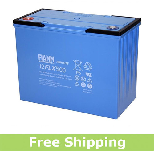 FIAMM 12FLX500 High Rate UPS Battery (OEM)