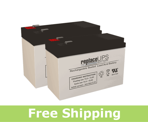 APC Back-UPS HT 1000 BT1000MC Replacement Batteries (Set of 2)