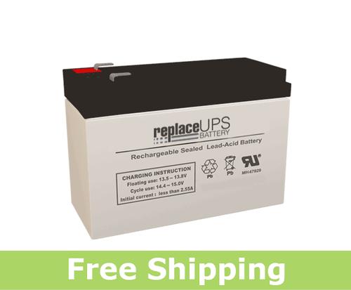 Raion Power RG1280T2 12 Volt 9 Amp Hour Version Battery (Replacement)