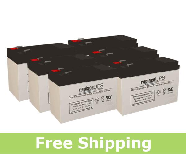 PCM Powercom Vanguard 2000VA Rackmount - UPS Battery Set