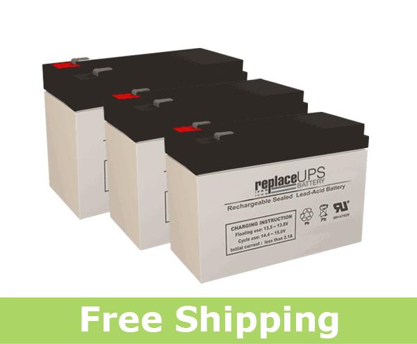 Para Systems Minuteman MCP 700i E - UPS Battery Set