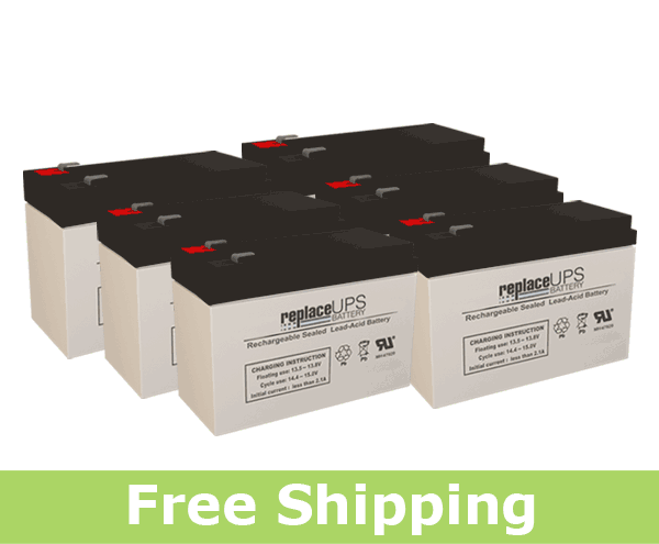 Para Systems Minuteman MCP 2000iRM E - UPS Battery Set
