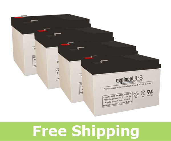 Para Systems Minuteman Pro 2200r - UPS Battery Set