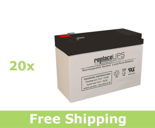 Upsonic IP 6000it - UPS Battery Set