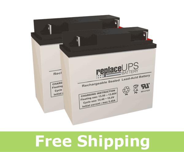 Alpha Technologies CC (017-100-XX) - UPS Battery Set